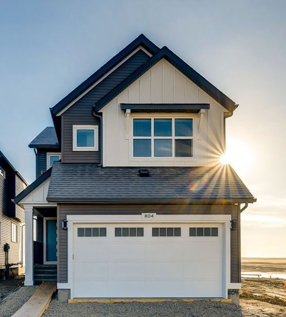 The Jefferson showhome in Lanark Landing Calgary Airdrie